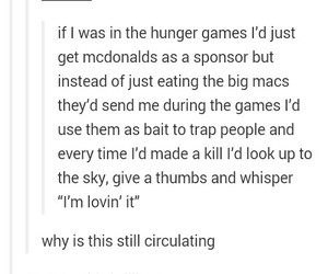funny, mcdo, and McDonald's image