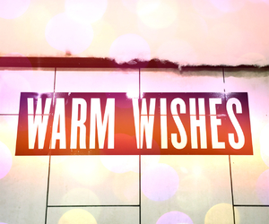 warm wishes and christmas image