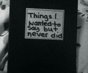 black and white, diary, and grunge image