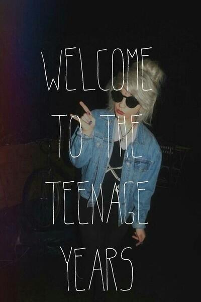 teenage, grunge, and teenager image