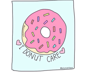 donuts, transparent, and overlay image