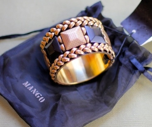 fashion, mango, and bracelet image