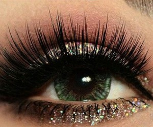 eyeliner, eyes, and lashes image
