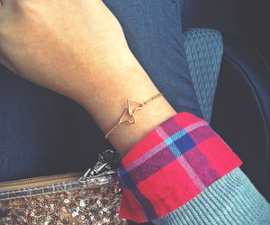 accessories, bracelet, and cardigan image