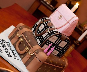 cake, chanel, and Burberry image