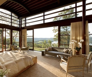 bedroom, view, and beautiful image