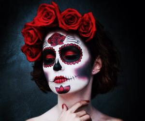 sugar skull and sweet image
