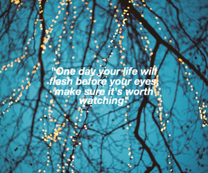 life, quotes, and winter image