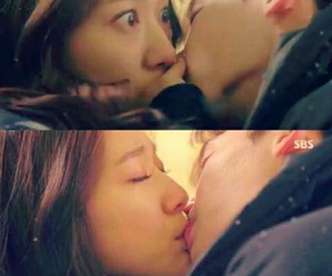 first, kiss, and pinocchio image