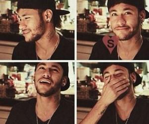 neymar, neymar jr, and smile image