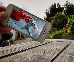 thor, funny, and iphone image