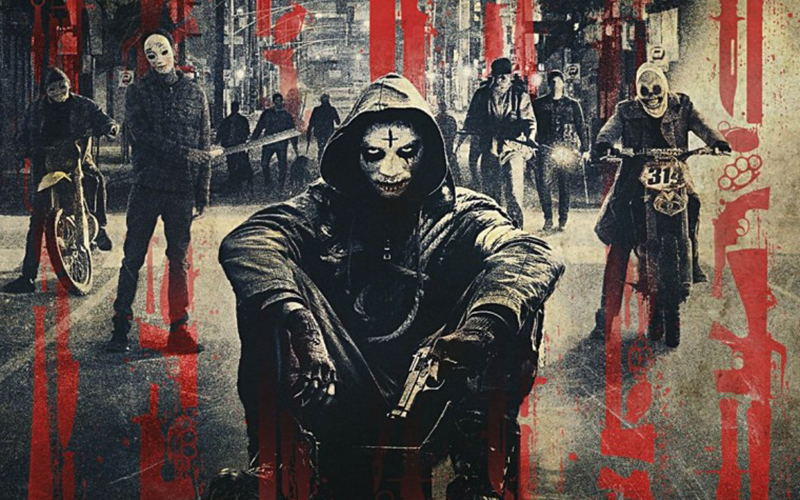 the purge: anarchy, michael k. williams, and the purge image