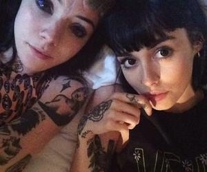girls, gorgeous, and tattos image