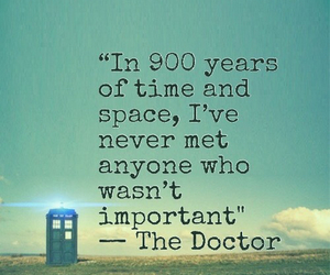 doctor who, quote, and tardis image