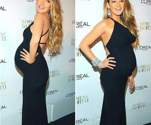 blake lively, gossip girl, and pregnancy image