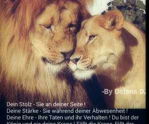 <3, ever, and lion image