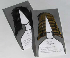 business card, creative, and hair stylist image
