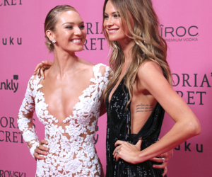 Behati Prinsloo, candice swanepoel, and Victoria's Secret image