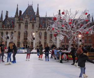 belgium, bruges, and christmas image