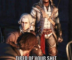 Assassins Creed, funny, and assassin's creed image