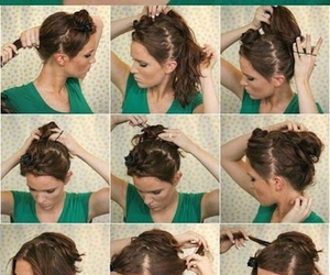 Easy, lovely, and hairstyle image