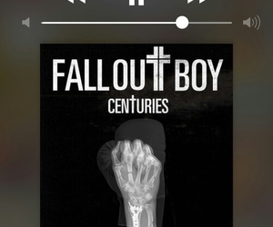 music, fall out boy, and centuries image