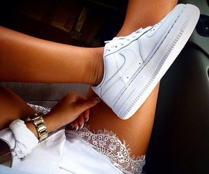 nike, tanned, and white image