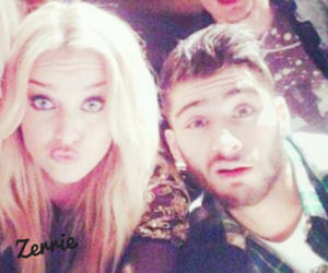 zayn malik, perrie edwards, and one direction image