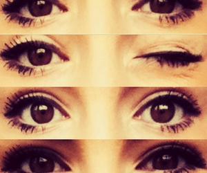 brown, eyes, and girl image