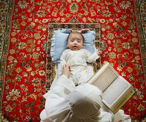 islam, baby, and beautiful image