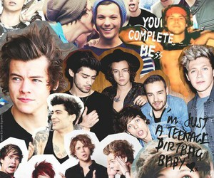 one direction, Collage, and 5sos image