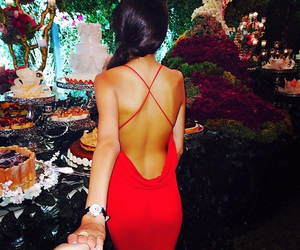 openback and claret gown image