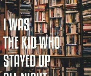 books, read, and night image
