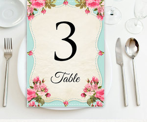 diy, wedding, and table numbers image