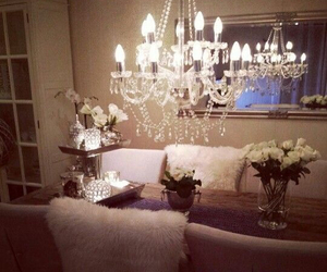 beautiful, chandelier, and design image