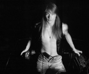 axl rose, black and white, and untouchedxxx image