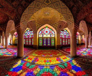 mosque, colors, and architecture image