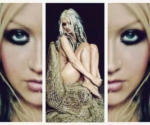 stripped, christina aguilera, and xtina image