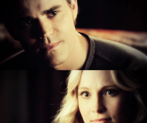 tvd, steroline, and the vampire diaries image