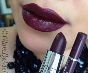 lips, makeup, and cute image