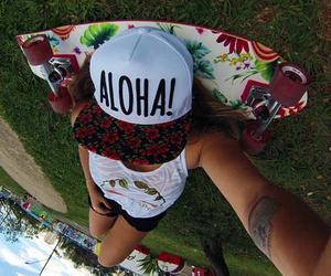 Aloha, girl, and style image