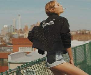 girl, camille rowe, and model image
