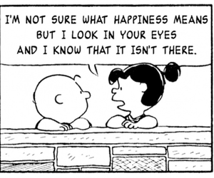 happiness, charlie brown, and quote image
