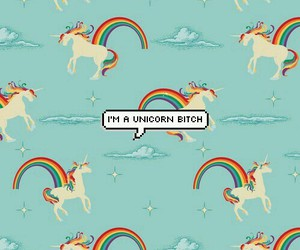 unicorn and bitch image