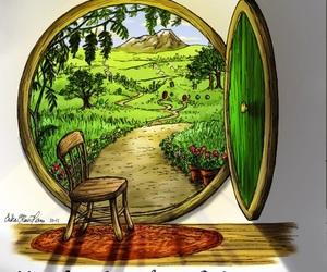hobbit, the hobbit, and tolkien image