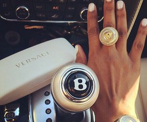 car, rings, and high fashion image
