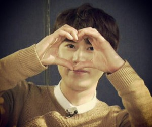 heart, super junior, and kyuhyun image
