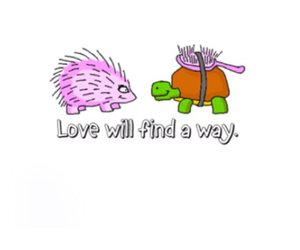 love and turtle image