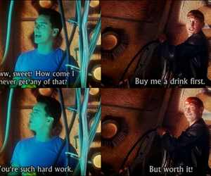 doctor who, john barrowman, and christopher eccleston image