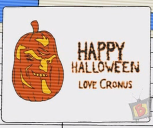 Halloween, class of the titans, and cronus image